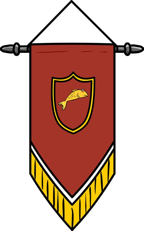 medieval flag outline clipart best