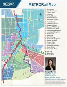 Houston Metro System Map by Metro Rail Houston Map