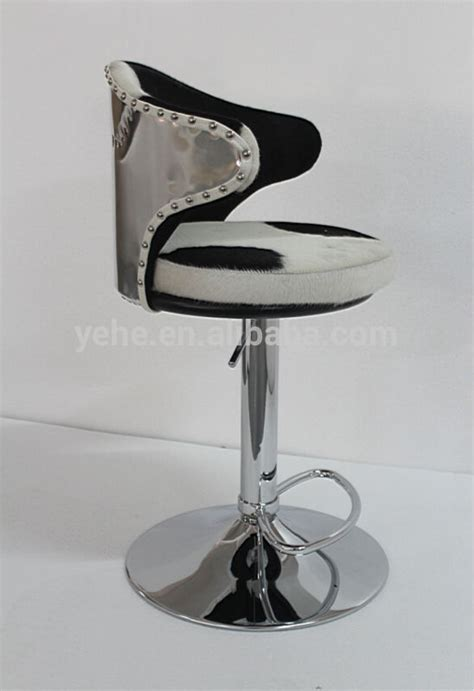 Cowhide Print Bar Stools by Bar Stool High Quality Bar Stool Cowhide Leather Bar Stool