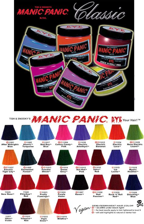 hair dye continued the truth about manic panic bonzai manic panic hair dye angry young and poor