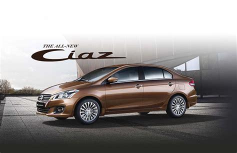 Suzuki Service Price 2016 Suzuki Ciaz Unveiled In Philippines Prices Start At