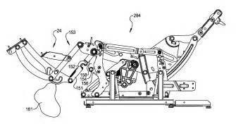 patent us8366188 release system for furniture member leg