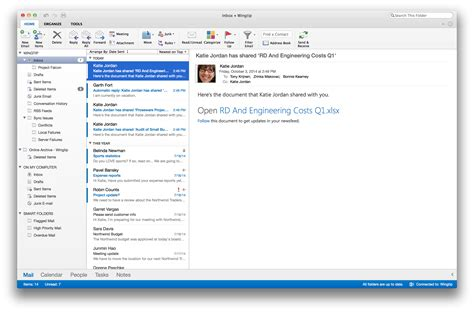 Office 365 Mail History Microsoft Redesigns Outlook For Mac Says New Office
