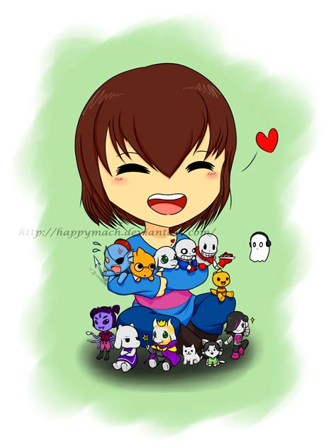 mettaton and frisk undertale frisk fandom and undertale frisk and the chibis by happymach on deviantart