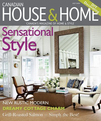 home decorating magazines canada iron