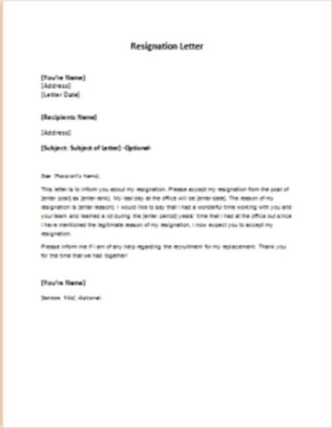 Resignation Letter Of Attorney In Fact Help Me Write A Personal Mission Statement