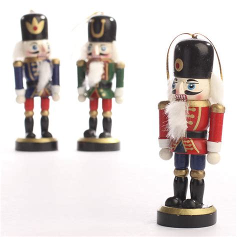 christmas nutcracker ornaments christmas miniatures