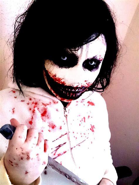 jeff the killer makeup tutorial jeff the killer tutorial remake 2013 youtube