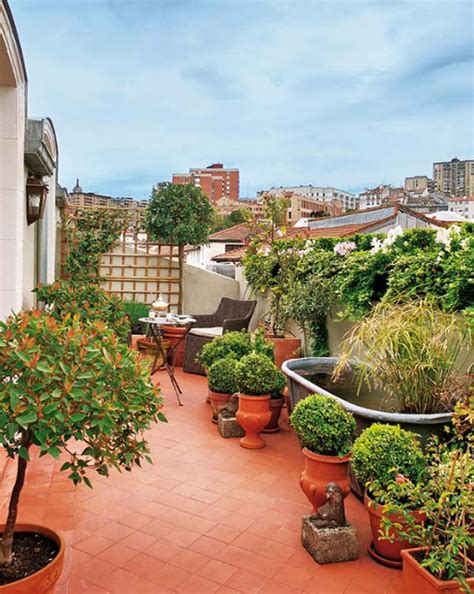 Patio Gardens Apartments by Attic Apartments With Garden Balcony Located In Spain