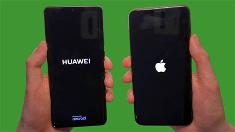huawei p pro  iphone xs max speed test battery speakers cameras youtube