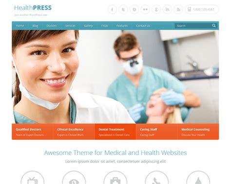 healthpress medical wordpress template themeshaker com