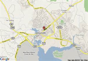 map of days inn jacksonville nc jacksonville