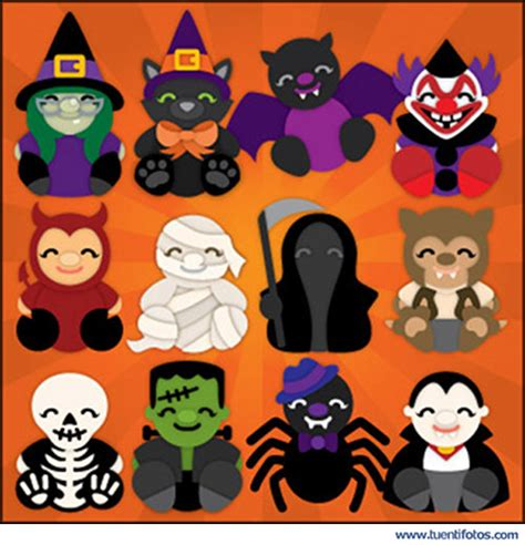 imagenes de google hallowen monstruitos halloween