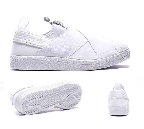 Adidas Superstar Slip On Womens Premium 1 adidas originals womens superstar slip on trainer white footasylum