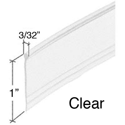 Parts Of A Shower Door M6184 Shower Door Bottom Seal 36 Inch Clear M 6184 Door Window Parts For All Of Your