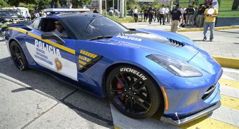 police corvette stingray guatemala police turn drug dealer s corvette into a police