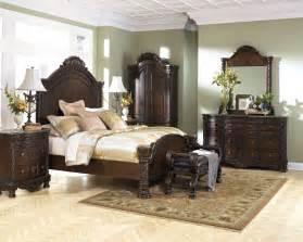attractive design of shore bedroom set