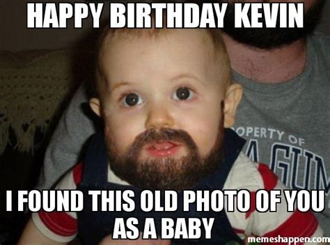 Imagenes De Happy Birthday Kevin | happy birthday kevin i found this old photo of you as a