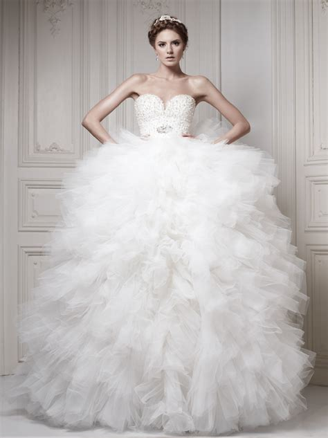 the 25 most pinned wedding dresses of 2014 bridal guide glamorous ersa atelier wedding dresses 2014 collection
