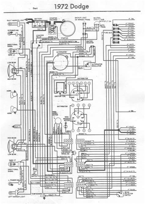 1972 dodge dart wiring diagram 72 dart wiring harnesss pictures for a bodies only