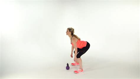 kettlebell swing with dumbbell get the most out of a 1 minute workout