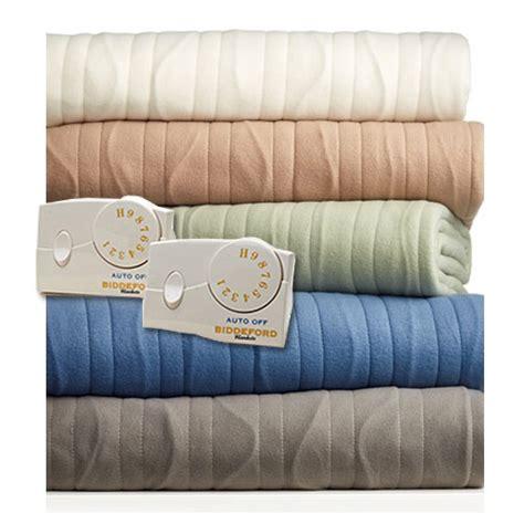 Biddeford Comfort Knit Heated Blanket by Biddeford Comfort Knit Fleece Electric Heated Blankets