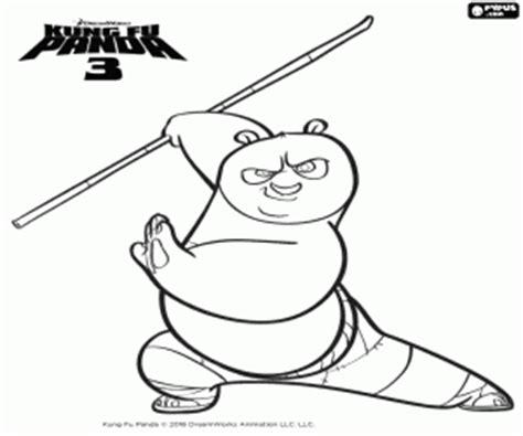 imagenes de tailon de kung fu panda coloriage kung fu panda 224 imprimer