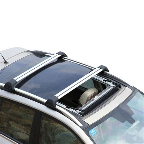 Jeep Roof Rack Cross Bars by For Jeep Compass 2007 2015 Car Top Roof Rack Cross Bars Luggage Carrier Ebay