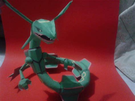 Rayquaza Papercraft - rayquaza papercraft d by javierini on deviantart