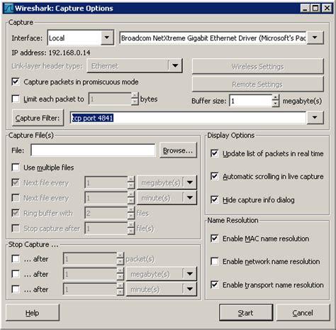 wireshark tutorial capture filter wireshark