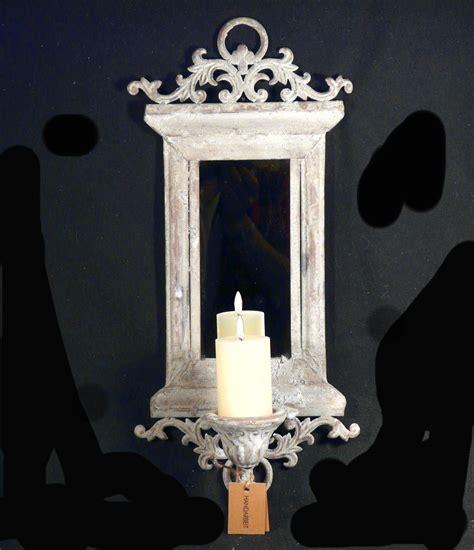 kerzenhalter spiegel kerzenhalter wandkerzenhalter kerzenleuchter metall mit