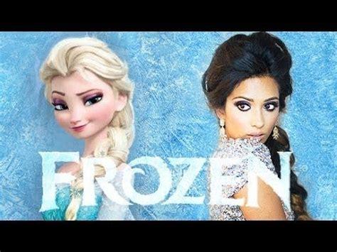tutorial gambar elsa frozen frozen elsa makeup tutorial makeup pinterest elsa