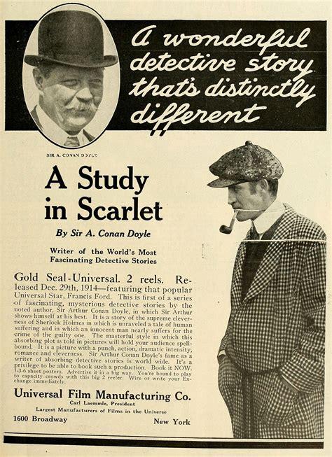 a study in scarlet the sherlock series a study in scarlet 1914