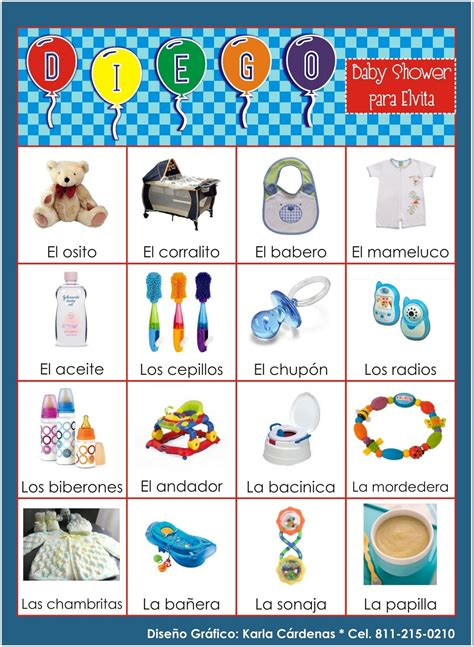 Loteria Baby Shower Pdf by Loteria Para Baby Shower Ni 241 O Imagui