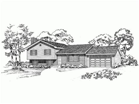 tri level house plans tri level house plan with opt basement for the new house house plans basements