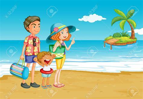 nudistas blog meninos beach clipart family picnic pencil and in color beach