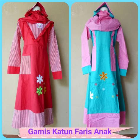 Gamis Anak Bandung paket grosir baju muslim murah 35rb di bandung baju3500