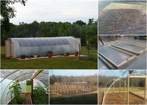 Hoop House Greenhouse DIY Build.   Trapper Talk