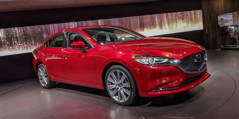 mazda c 6 2018 mazda6 gets a whole lot fancier for not a lot more