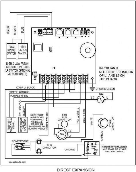 duo therm rv air conditioner wiring diagram circuit and