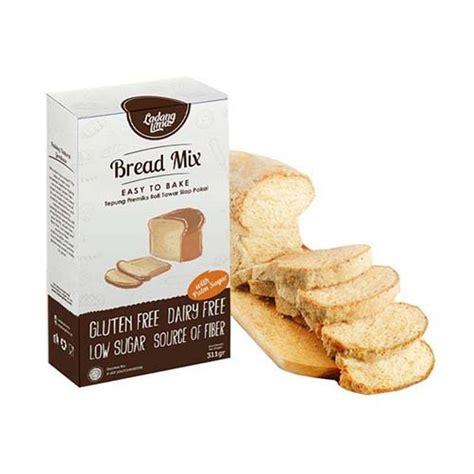 Tepung Pancake Mix Ladang Lima jual ladang lima gluten free bread mix tepung roti 311 g