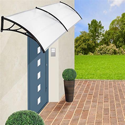 tettoia per porta ingresso tectake pensilina tettoia in policarbonato per porta o