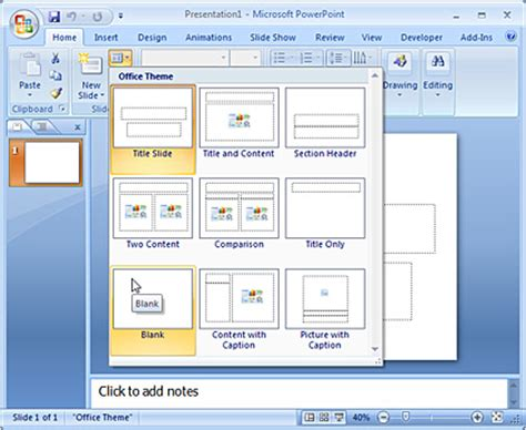 how to use powerpoint 2010 slide layouts inserting charts in powerpoint 2007 for windows