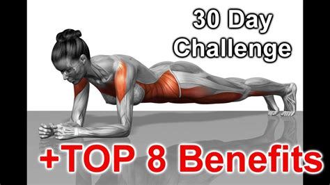 benefits of 30 day challenge 30 day plank challenge results and top 8 benefits