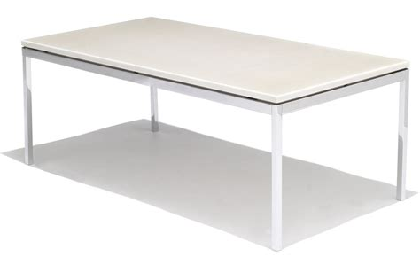 Square Or Rectangle Coffee Table Florence Knoll Rectangular Coffee Table Hivemodern