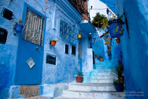 the blue city morocco the blue town of chefchaouen morocco