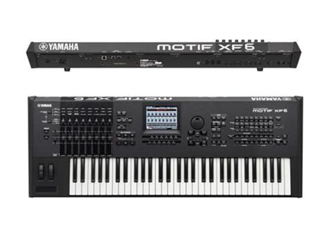 Keyboard Yamaha Motif Xf6 yamaha motif xf6 61 note workstation keyboard synthesizer whybuynew