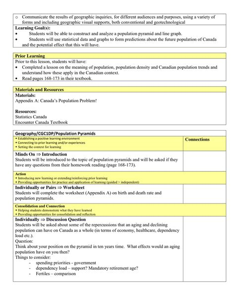 Lesson Plan Template In Word And Pdf Formats Page 2 Of 8 Docs Lesson Plan Template 2