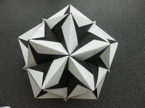Tadashi Mori Origami - origami modular kusudama ciclone tadashi mori