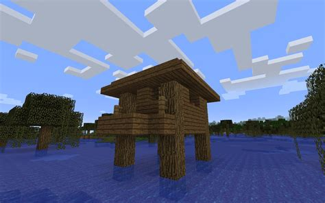Crazy Couches minecraft swamp witch hut seed epic minecraft seeds